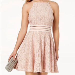 Light Pink lace dress 👗